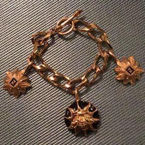 Fendi Sun Charm Bracelet, Vintage